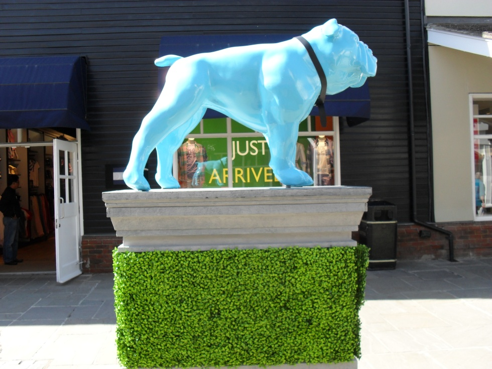 Blue bulldog